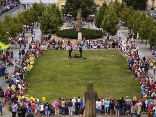 Husovo náměstí Beroun