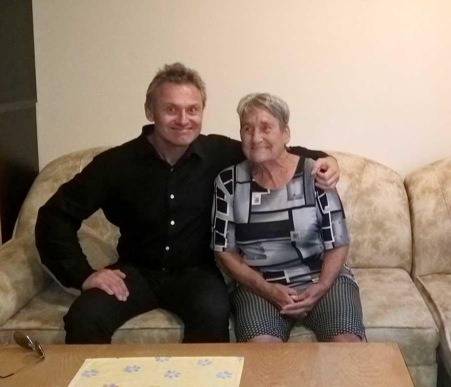 S jedním z Lidických dětí, které přežily